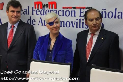 Rueda de prensa María de Villota 11-10-2012 Post Accidente