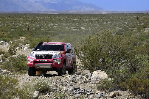 L Pez Y Vallejo Superar N La 8 Etapa Del Dakar 2013 Sin