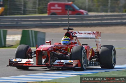 Massa - Circuito de Jerez 2013