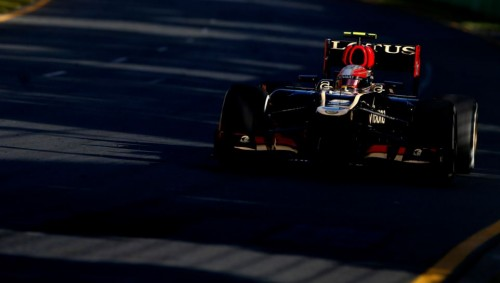 Romain Grosjean en Melbourne