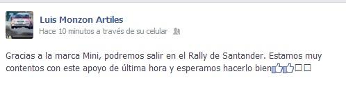 Monzon facebook si rallye cantabria