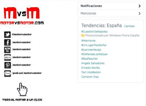 #DefiendeLosRallys trendig topic