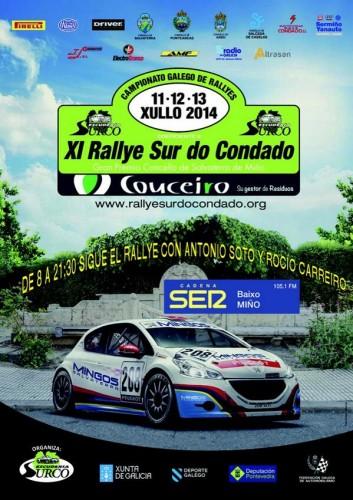 El XI Rallye Sur do Condado 2014 se podrá seguir en Cadena Ser Baixo Miño