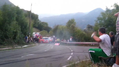 La afición se vuelca con el tema y pide la libre absolución del piloto que tuvo un accidente en el Rallye Principe de Asturias 2012