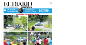 diario montanes accidente: