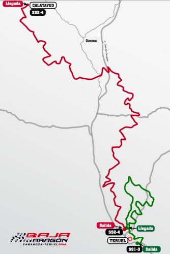 Desvelado el recorrido de la Baja España Aragón 2014