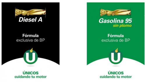 La gasolina del euro-3 y el euro-4