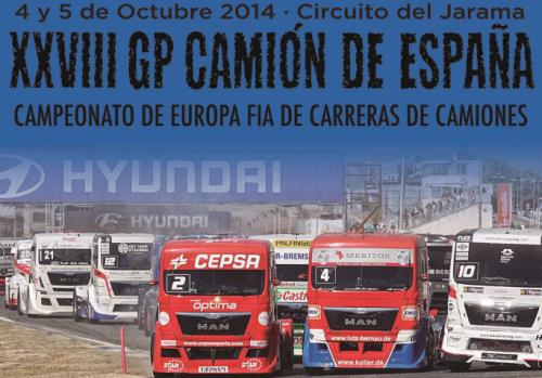 Las entradas del GP Camión de España 2014, Circuito del Jarama, ya a la venta