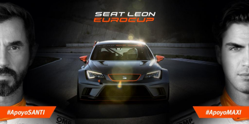 Santi Millán y Maxi Iglesias se enfrentarán en la final de la SEAT León Eurocup Barcelona 2014 #RetoSANTIVsMAXI