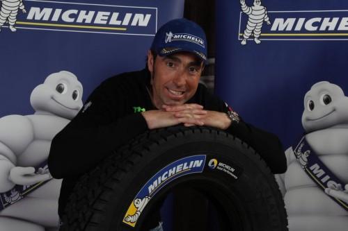 Nani Roma Michelin Dakar 2015