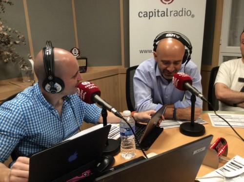 Juanma Fernandez y Antonio Lobato Capital Radio entrevista