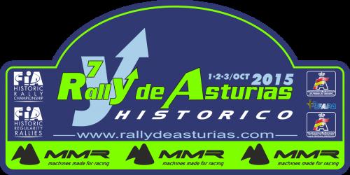 Placa 7 Rally de Asturias 2015