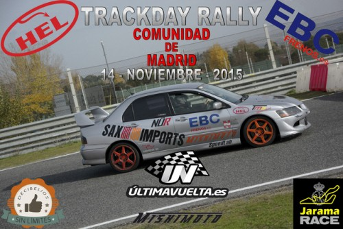 Trackday Rally Comunidad de Madrid RACE 2015